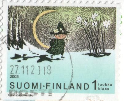 Stamps - FINLAND moomin stamp