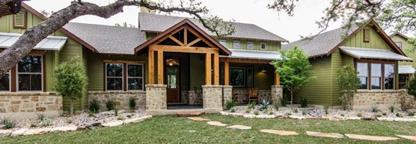 Texas Hillcountry Stone Homes Texas Hill Country Style
