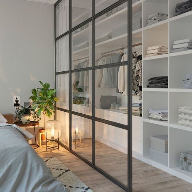"""Rafa Oliveira 🤎 on Instagram: """"Bom dia!! Leveza e organização das roupas e do quarto 🖤 #organizesemfrescuras #organização #closet #pinterest #decor"""""""