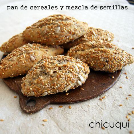 Pan de cereales y mezcla de semillas la receta en chicuqui.com