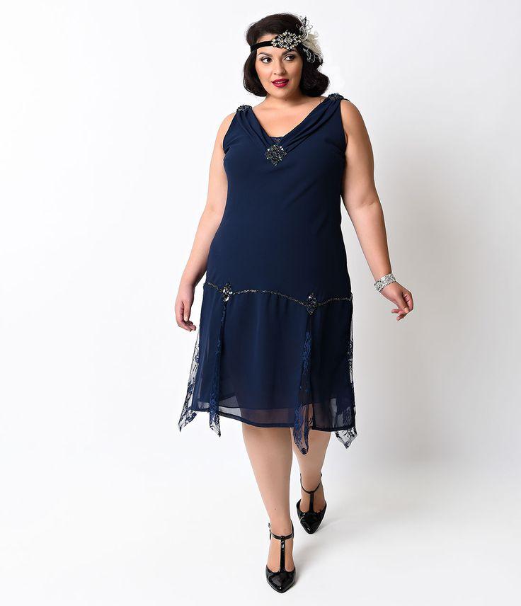 1920s Style Plus Size Dresses Prom Dresses 2018