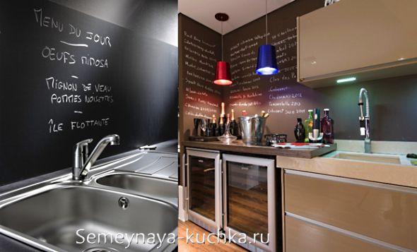 стена для рисования мелом на кухне - Пошук Google