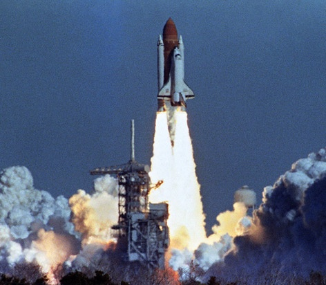 space shuttle that exploded on takeoff - photo #16