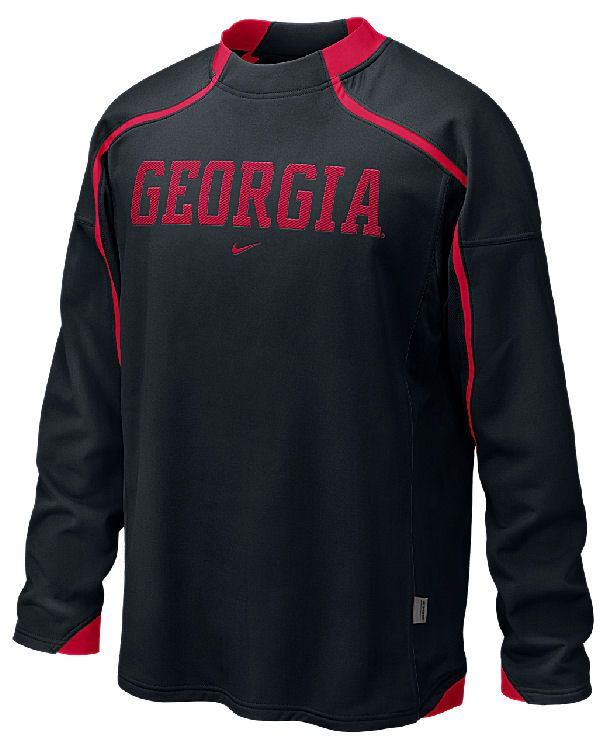 Georgia Bulldogs Fleece Top-Prevent Performance By Nike on Sale
