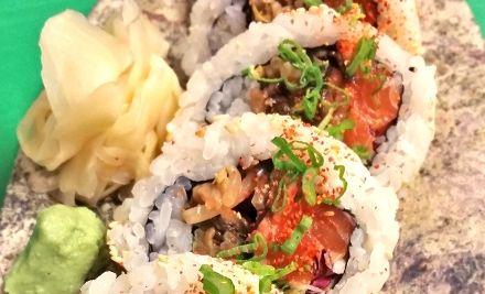 5 fogásos japán izakaya menü