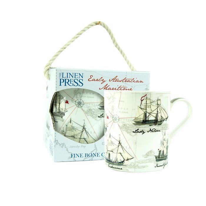Early Maritime fine bone china cup