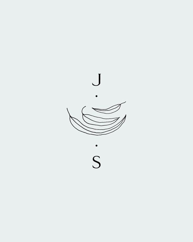 "Saturday Studio (@saturday_studio) on Instagram: ""Work in progress #todayatsaturday  #illustration #monogram #typography #eucalyptus #wip"""