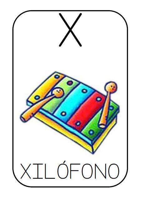 Ahí va la primera aportación para el nuevo curso: un abecedario en mayúsculas y con imagen para los más pequeños. En un blog (no me acuerdo...