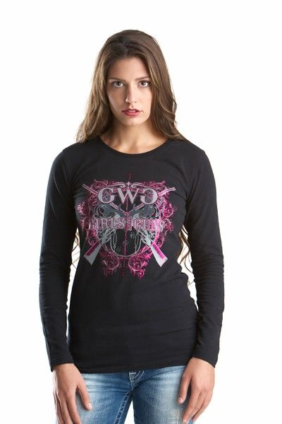 GWG Insanity Long Sleeve Black and Pink WANT!!!!