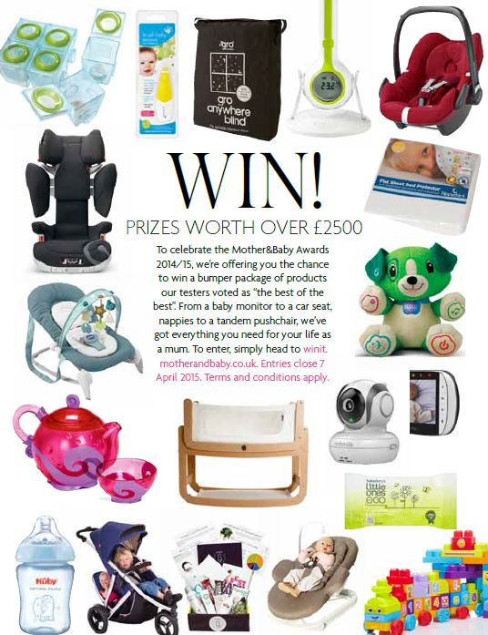 Win over £2,500 of the M&B 2015 Best Buys