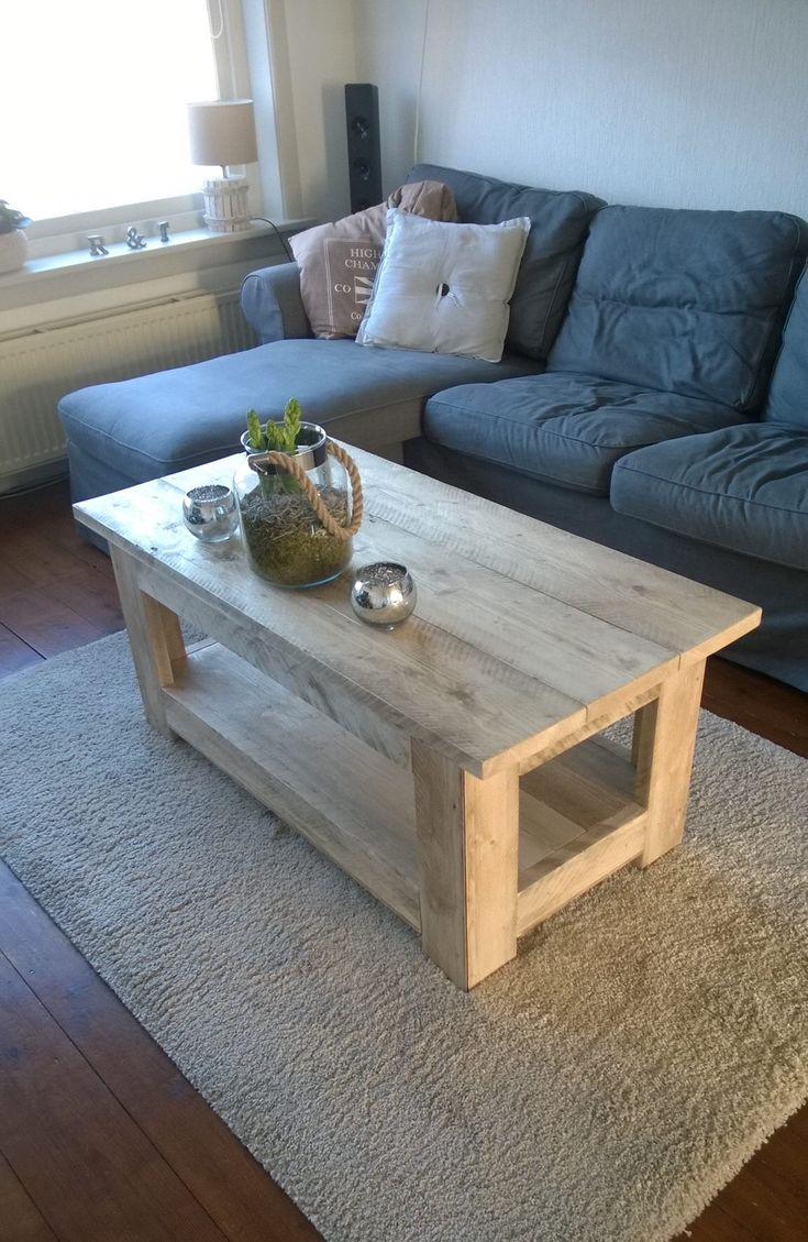 25 beste idee n over zelfgemaakte salontafels op pinterest meubilair zelfgemaakte meubels en - Ideeen van binnenkomst ...