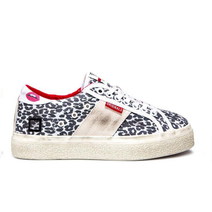 Spring Summer 2015 D.A.T.E. Sneakers Collection / Italian design/ Rocket Animalier Leopard:http://bit.ly/1zM0M9d