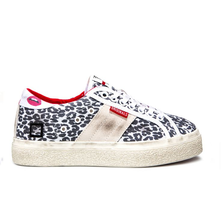 Spring Summer 2015 D.A.T.E. Sneakers Collection / Italian design/ Rocket Animalier Leopard:http://bit.ly/1zM0M9d