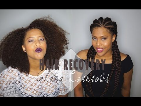 Hair Recovery from Ghana Cornrows - YouTube