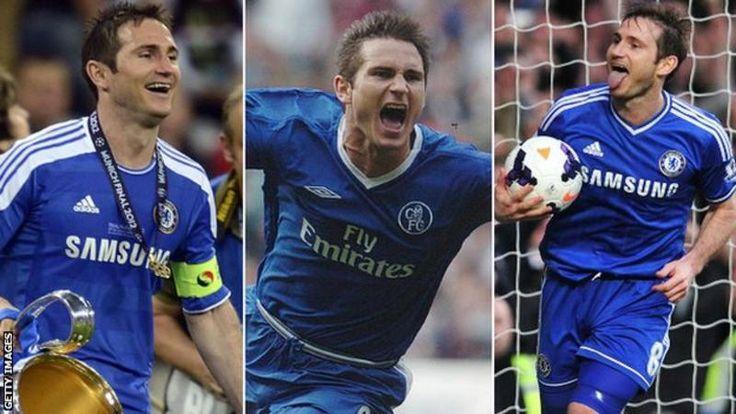 Frank Lampard Former Chelsea & England midfielder retires
