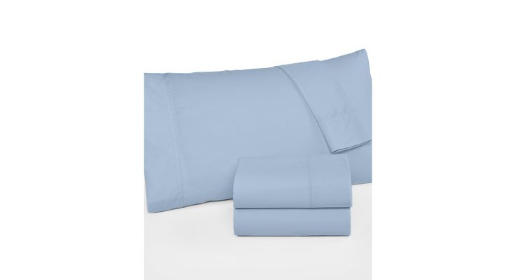 Martha Stewart Collection 360 Thread Count Percale California King Sheet Set