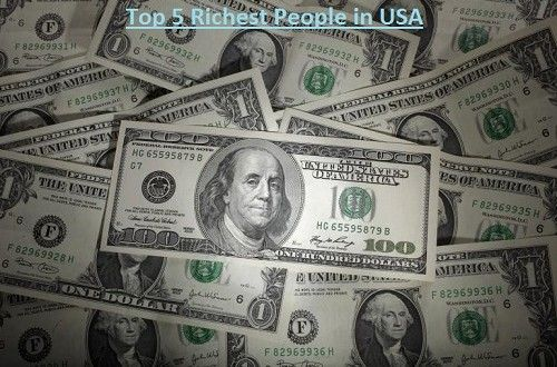 #richestpeopleusa Top 5 Richest People in USA (United States of America)