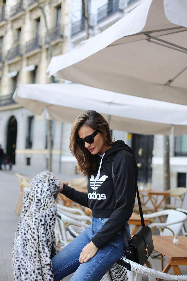 Sweatshirt & fur looks - Lady Addict