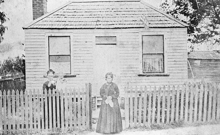 Ballarat, Victoria, circa 1860