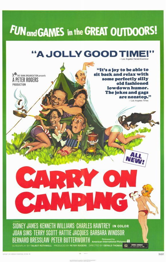 Carry On Camping. 1969. My all time fave carry on film.