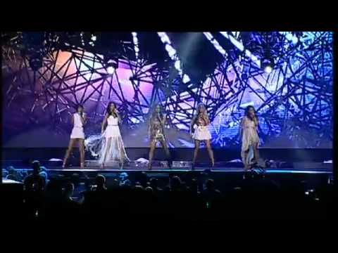 The Saturdays - Notorious (Live At The 2011 Jingle Bell Ball)