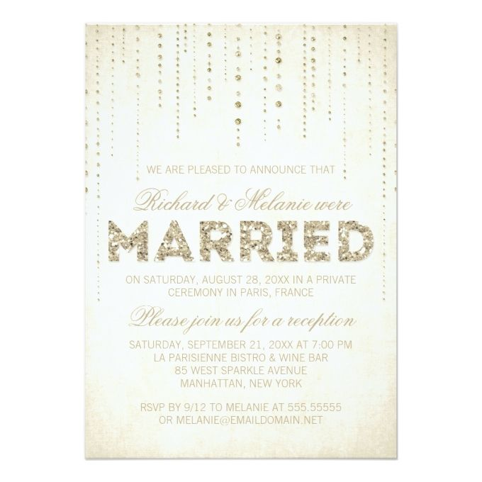 28 best invitations images on Pinterest Wedding reception - ceremony invitation template
