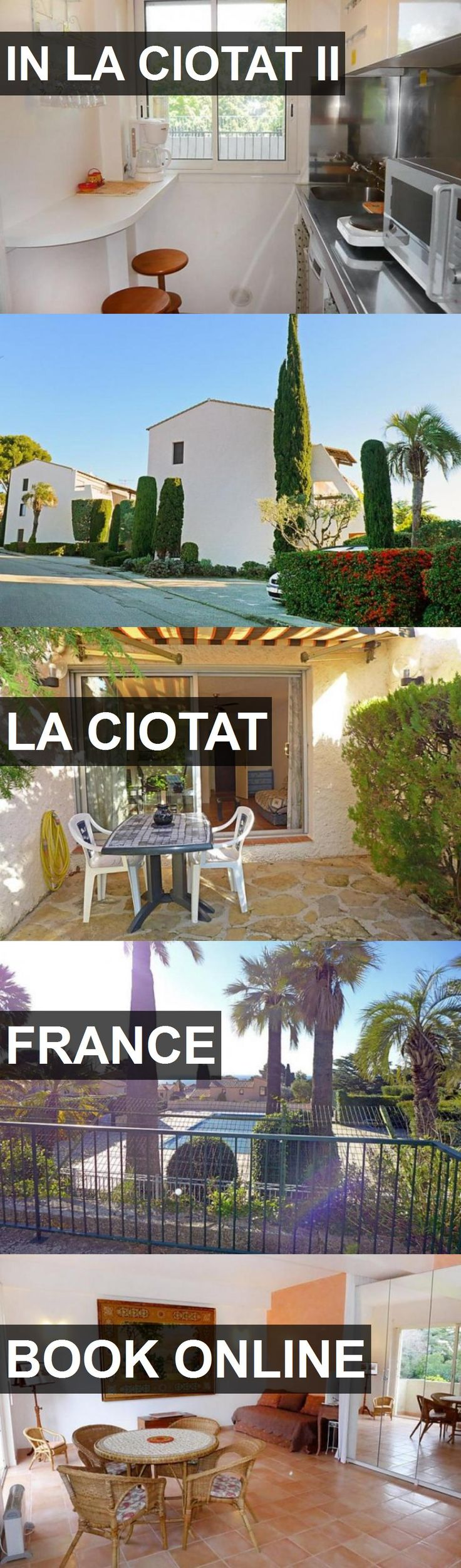 Hotel IN LA CIOTAT II in La Ciotat, France. For more information, photos, reviews and best prices please follow the link. #France #LaCiotat #travel #vacation #hotel