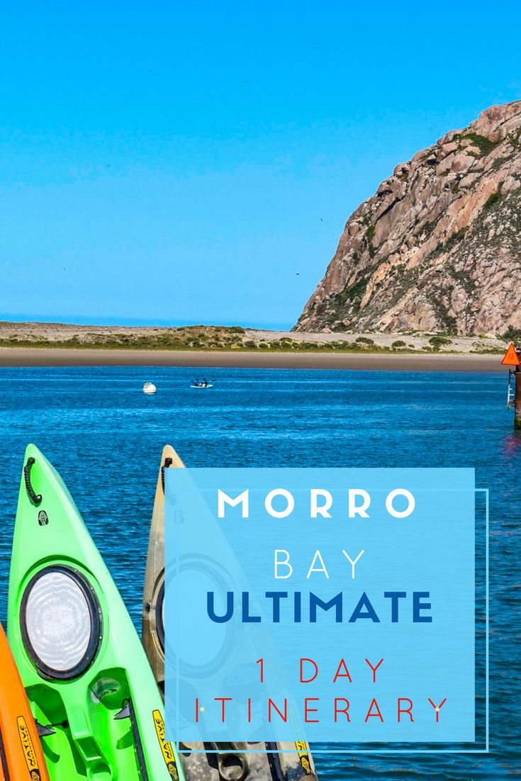 Morro Bay Ultimate 1 Day Itinerary. Morro Bay is an outstanding coastal town for an overnight stopover, join us for your 1 day Itinerary.