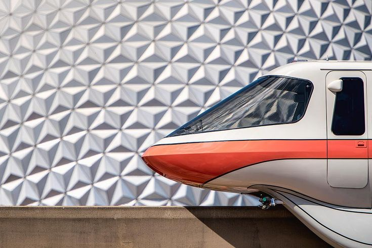 Red Monorail is my favorite monorail, what a gorgeous Epcot shot!  #Regram via @imaginography71  Walt Disney World I Disney Pictures I Beautiful Disney I Pictures of Disney I Epcot Picture I Spaceship Earth