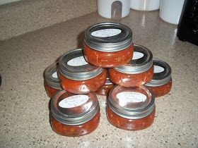 Canning Pizza Sauce