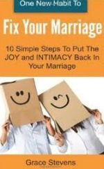 One New Habit To Fix Your Marriage: 10 Simple Steps To Put The Joy And Intimacy Back In Your Marriage #goodbooks #books #marriage #happy