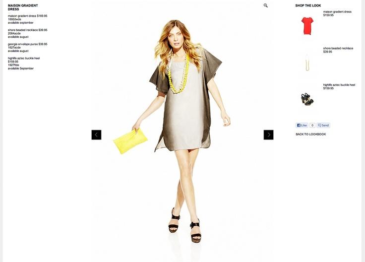 Decjuba - ecommerce development, shop the look