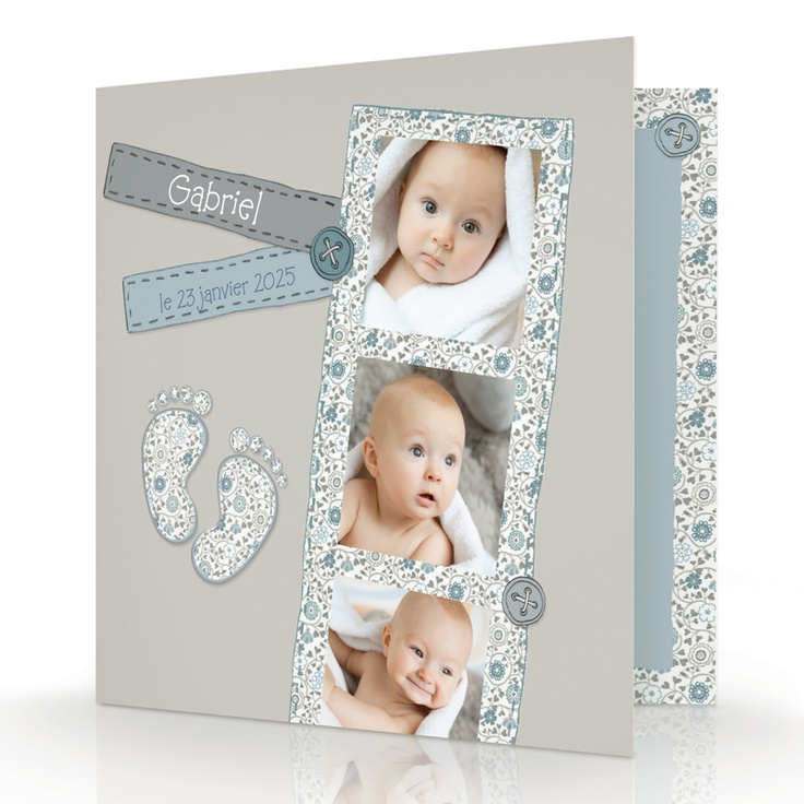 39 best id e faire part images on pinterest newborn. Black Bedroom Furniture Sets. Home Design Ideas