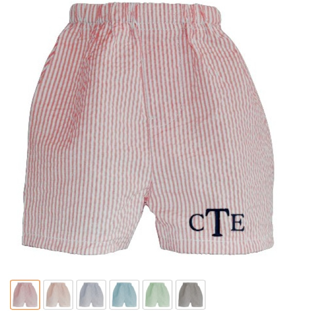 Monogrammed baby boxers from veeshee.com-- great gift