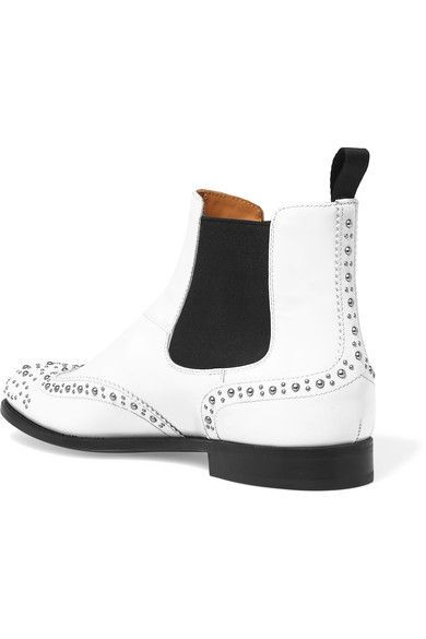 Church's - Ketsby Studded Leather Chelsea Boots - White - IT