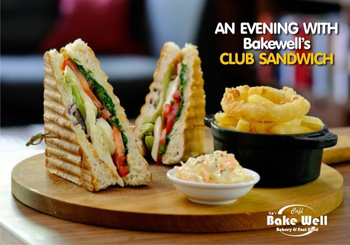 An Evening with #Bakewell's Club #Sandwich . . . #cafe #enjoy #cafebakewell #bakewell #indorecafe #happy #family #food #enjoy #cp #crownpalace #friendship #friend #cp #clebration #party #birthday #celebrate #bakery #fastfood #bake - http://ift.tt/1HQJd81