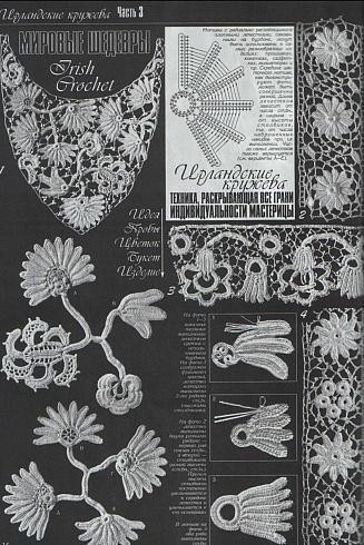 The 125 Best Lace Irish Crochet Images On Pinterest Irish