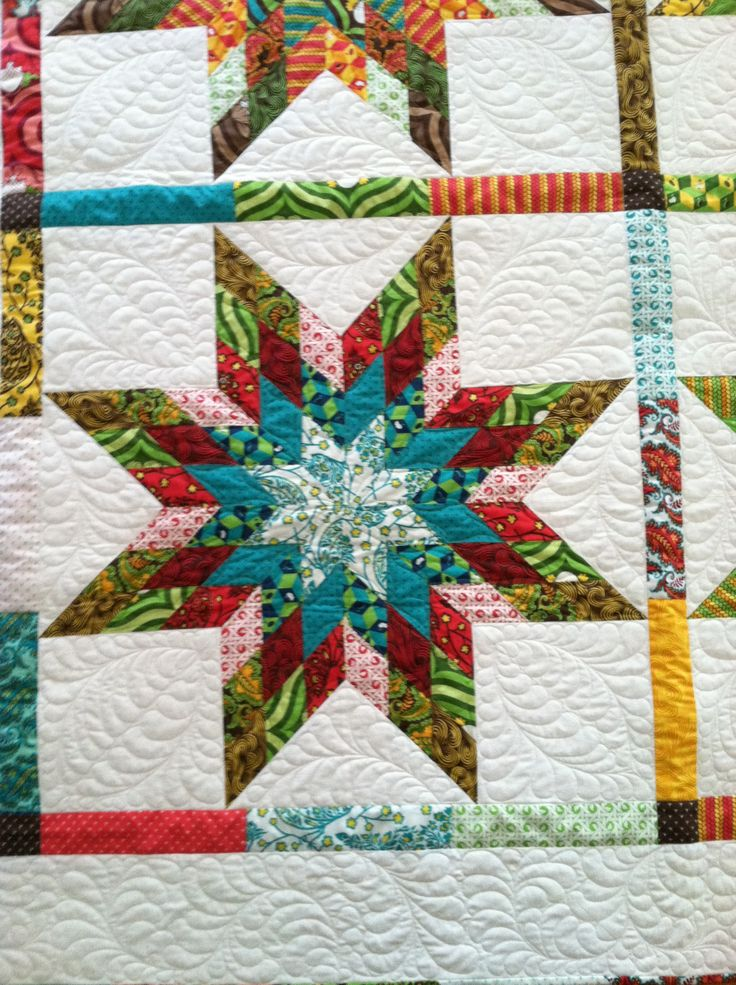 68 best Lone Star Quilts images on Pinterest   Appliques, Projects ... : easy star quilt - Adamdwight.com