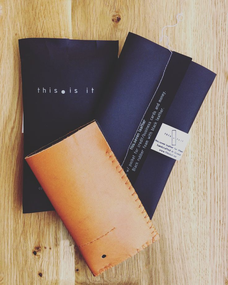 this.seven in #tabac #leather combined with #black #rubberfoam..  www.thisisit.me  Meet our new products and packagings, ready to be gifted to your friends  #blackseries #handcrafted #applesleeves #iphone7 #iphonesleeve #iphonecase #mensaccessories #menstyle #fashion #design #packaging #thisisit #thisisitdaily #thisisitgram