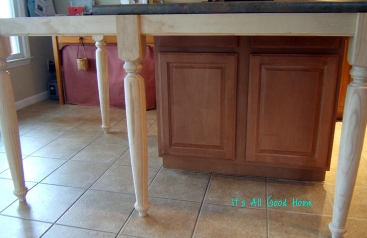 Kitchen Island Seats 5 6 X 42 Quot Newel Post Legs