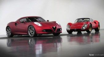 Alfa Romeo 4C and the 33 Stradale