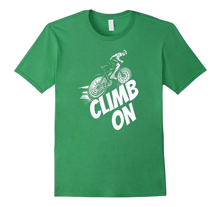 Climb On Bicycle Bike Rider Funny Gag Gift Idea Cool T Shirt