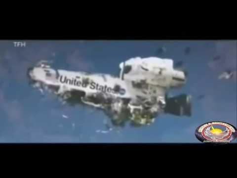 IMAGENS IMPRESSIONANTES DE 2 OVNIS APROXIMANDO SE DO ONIBUS ESPACIAL COLUMBIA - YouTube
