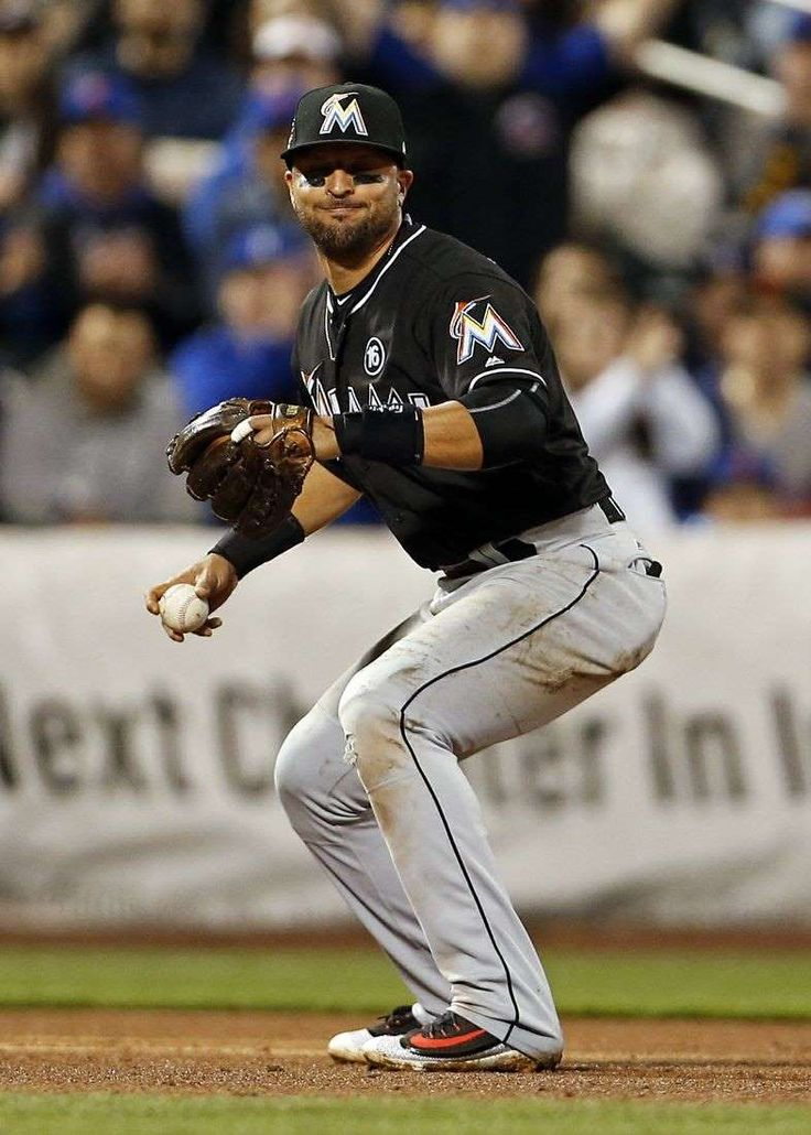 Marlins place 3B Prado on DL  -  May 8, 2017:    Miami Marlins third baseman Martin   Prado (14) went on the disabled list with a hamstring injury.