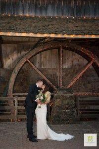 A gorgeous wedding photo at Peddler's Village in Bucks County, Pennsylvania