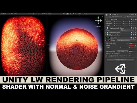 Unity3d Graphics with Unity3d LWRP and creating a shader