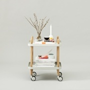 Table roulante - Block Table - Normann Copenhagen