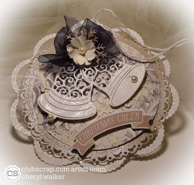 Sweeet Designs By Cheryl: Shades of Winter Doily Tags