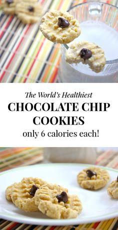 Six calorie cookies. SIX CALORIE COOKIES. They taste like heaven.