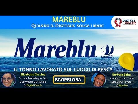 La strategia di Digital Marketing in Mare Blu [video intervista]
